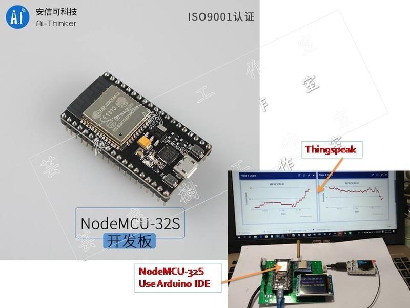 [芸庭樹]安信可原廠NodeMCU-32S WeMOS Goouuu ESP32 開發板  MicroPython