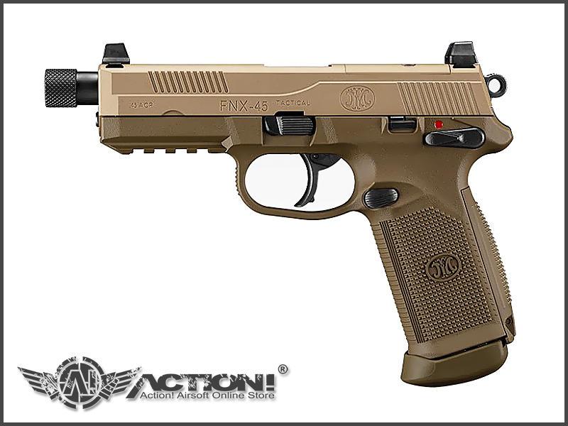 【ACTION!】TOKYO MARUI - FNX-45 Tactical 氣動手槍《7月發售!預購中!》