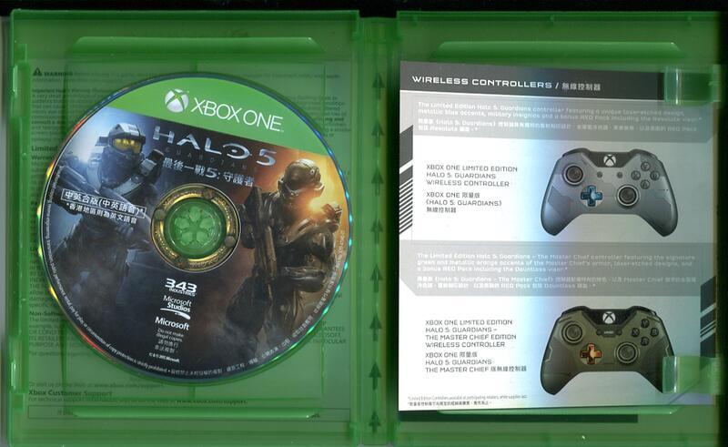 [XONE,X360] 售Halo5(X1), 惡靈古堡5(X360)
