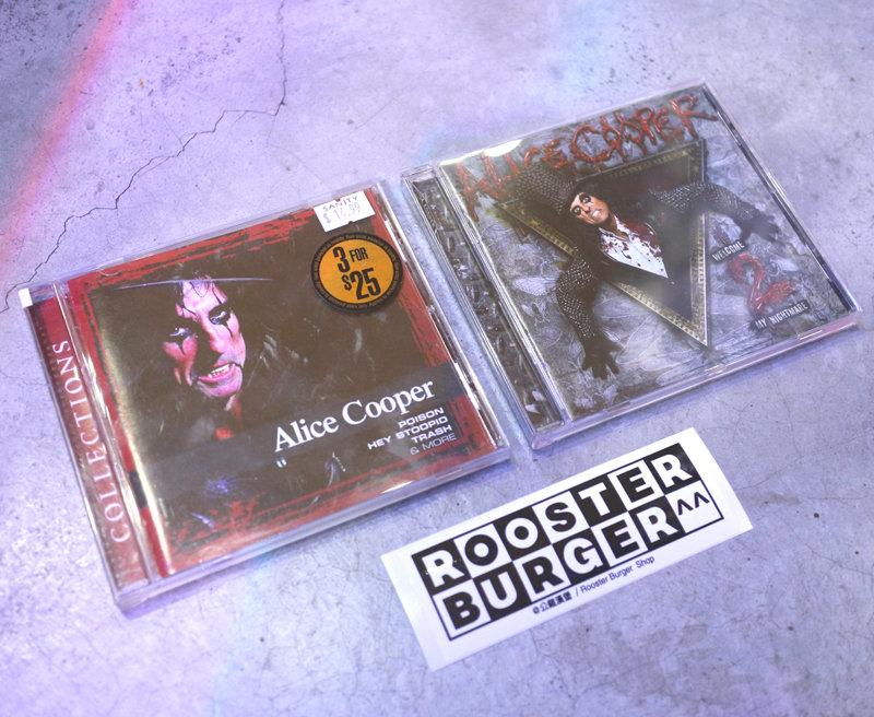 「Alice Cooper Collections/Welcome 2 My Nightmare 二手 CD@公雞漢堡」