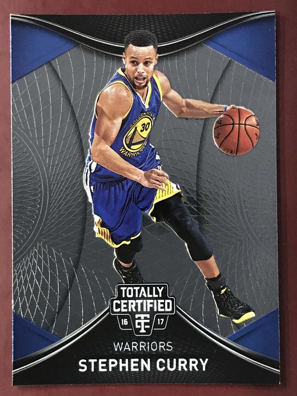 2016-17 Totally Certified #14 Stephen Curry 勇士隊