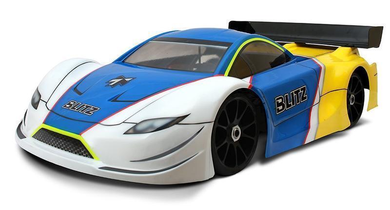 ◣瘋玩具◥ 新款泰德 BLITZ 1/8 GT房車 透明車殼 GT4 厚度1.0mm #60807-10【附貼紙】