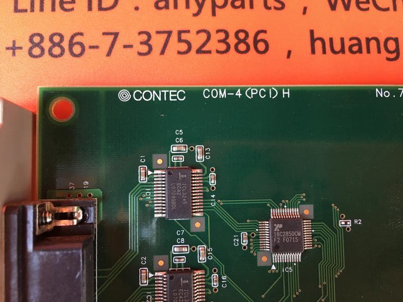 CONTEC COM-4(PCI)H NO.7190B BOARD