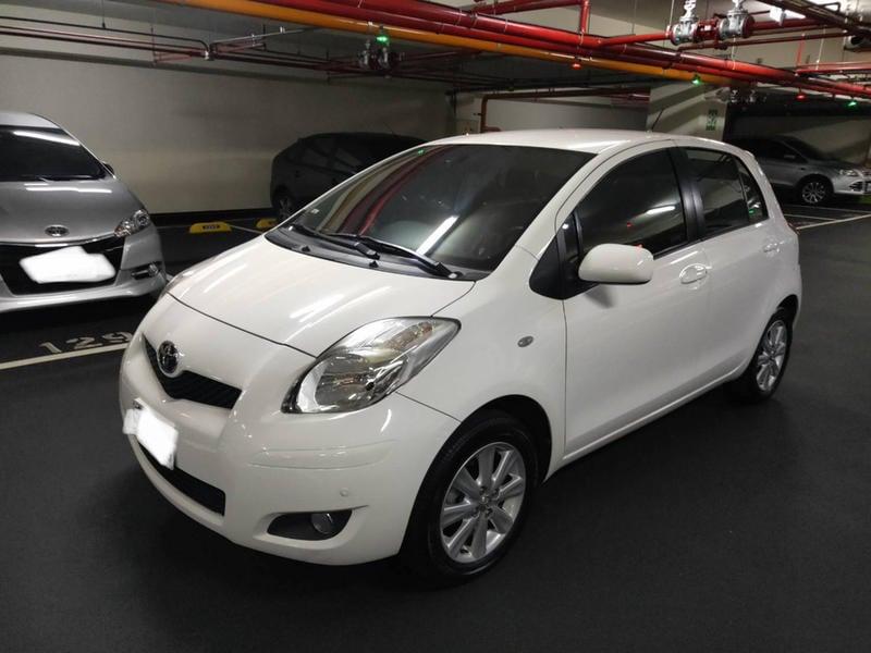 豐田 Toyota 2012年出廠 Yaris  G版 白色 已售出!