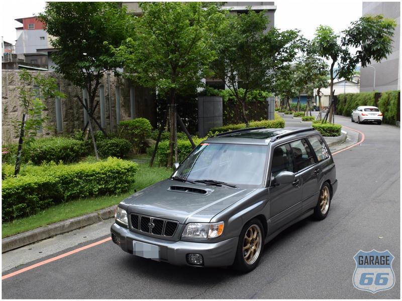 FORESTER SF5 森林人 JDM 4WD 露營風 六六車庫