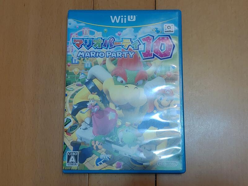 【現貨】Wii U 日版 瑪利歐派對10 Mario Party 10