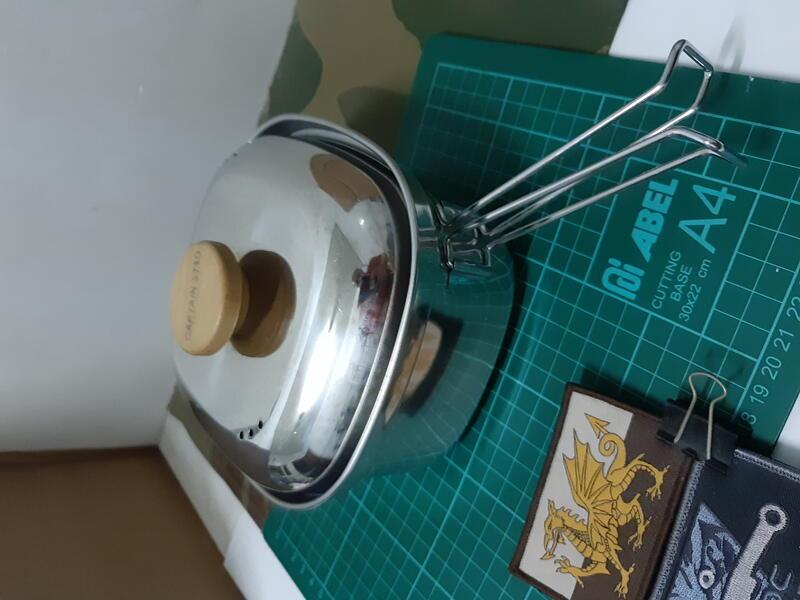 Captain Stag 日本製鹿牌 UH-4202 1.3L燕三条不鏽鋼方鍋 /泡麵鍋