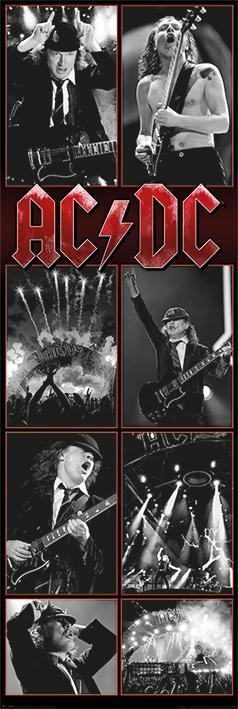 【 英國進口超大門型海報】AC/DC (Live Montage) #CPP20251(53x158cm)