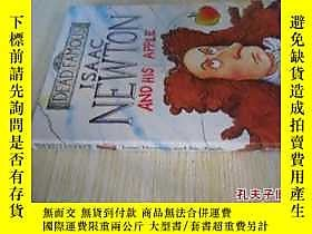 古文物英文原版罕見Isaac Newton and His Apple: Dead Famous露天7215 Kjart