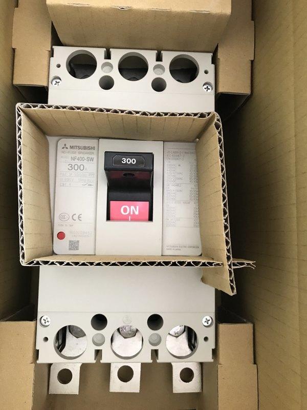 三菱  無熔絲開關 NF400-SW 3P 250A.300A.350A.400A