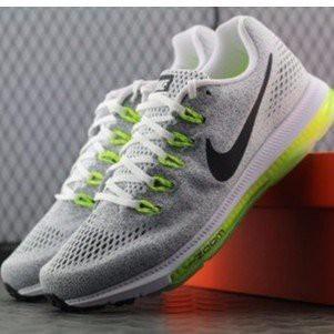 NIKE ZOOM ALL OUT LOW 白 氣墊 網面 反光 灰綠 白綠 輕量 慢跑鞋 男