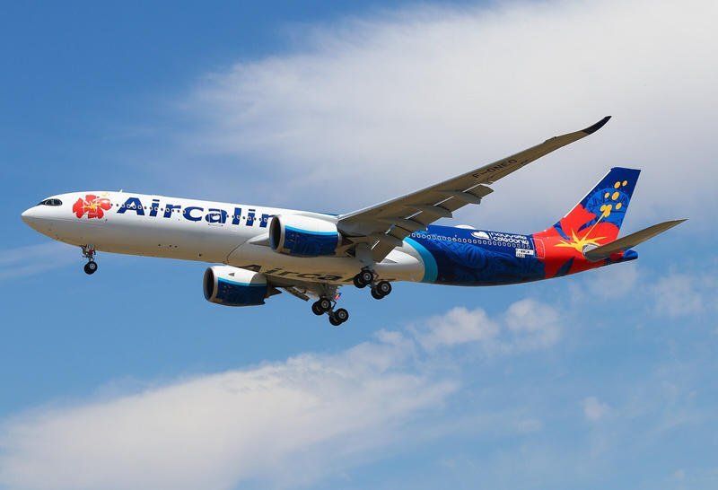 JC Wings 喀里多尼亞航空 Aircalin A330-900NEO F-ONEO 1:400