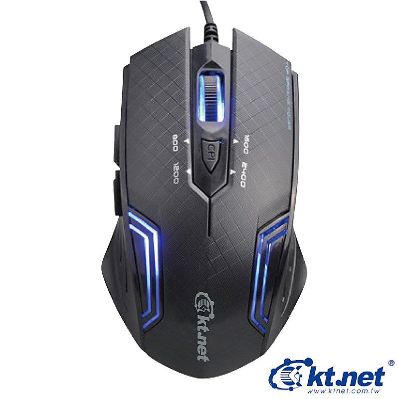 【迪特軍3C】ktnet 紋鵰 6D 電競藍光遊戲鼠 USB介面 電競滑鼠 藍光鼠 遊戲鼠