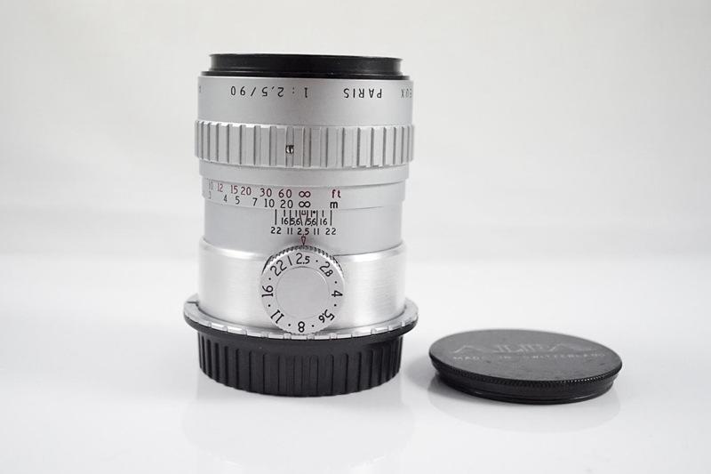 *反轉奇鏡*-售Angenieux 90mm f2.5 飛輪版(故障品),CANON口