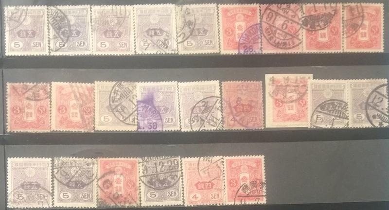 【AOG 隱世一方】日本 郵票一批****Book014