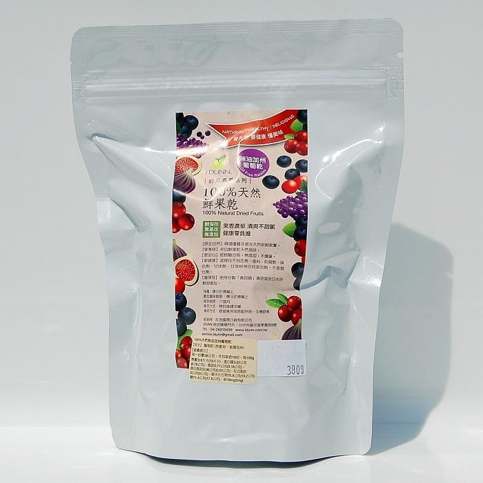 100%天然新鮮無油加州葡萄乾(300g),未榨汁,無加糖,經農藥與重金屬檢測,無添加、無硫化 養酵母 果乾IDUNN