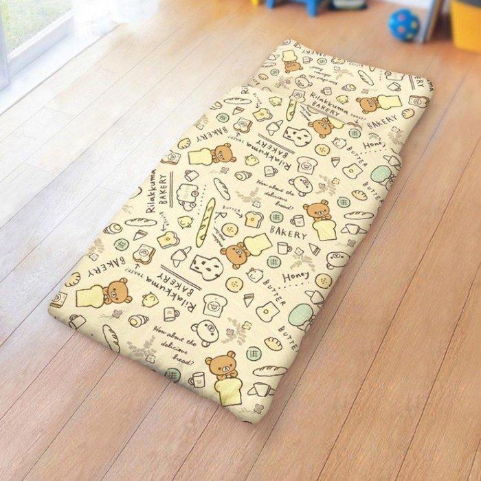 【小如的店】COSTCO好市多線上代購~100%純棉卡通兒童睡袋 -拉拉熊 吐司塗鴉(150x120公分)