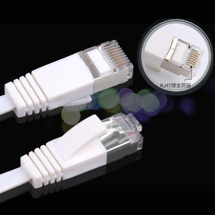 【DB392A-F】CAT.6 扁平網路線0.5-5M 扁形超薄CAT6極速網路線1000MB高速寬頻用
