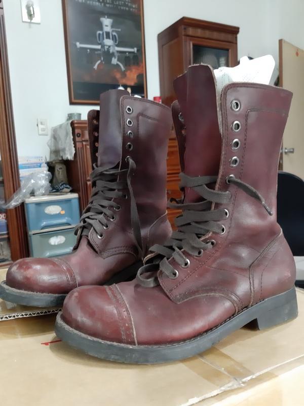 WW2 傘兵靴 牛皮 Size 26.5