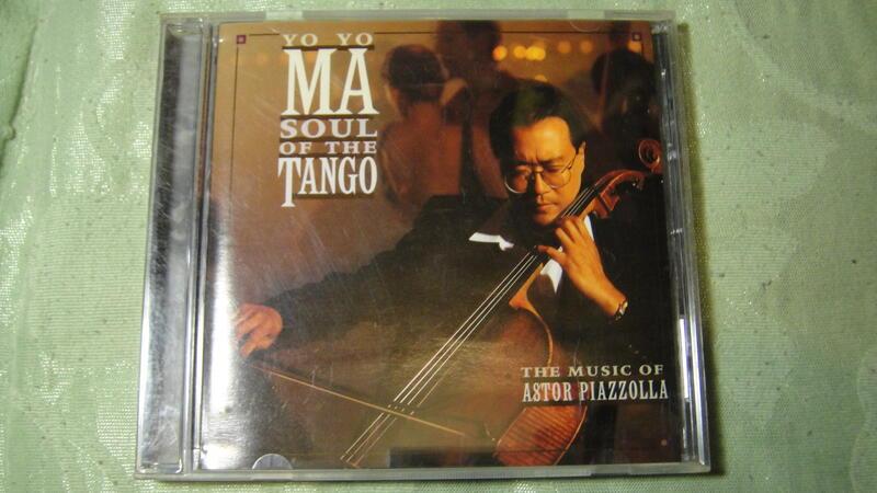 YO-YO MA 馬友友 Soul of The Tango 探戈靈魂 CD