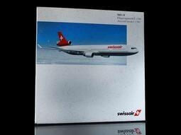 A-39 櫃 : 1/500 HERPA SWISSAIR 瑞士航空 MD-11 50365 富貴玩具店