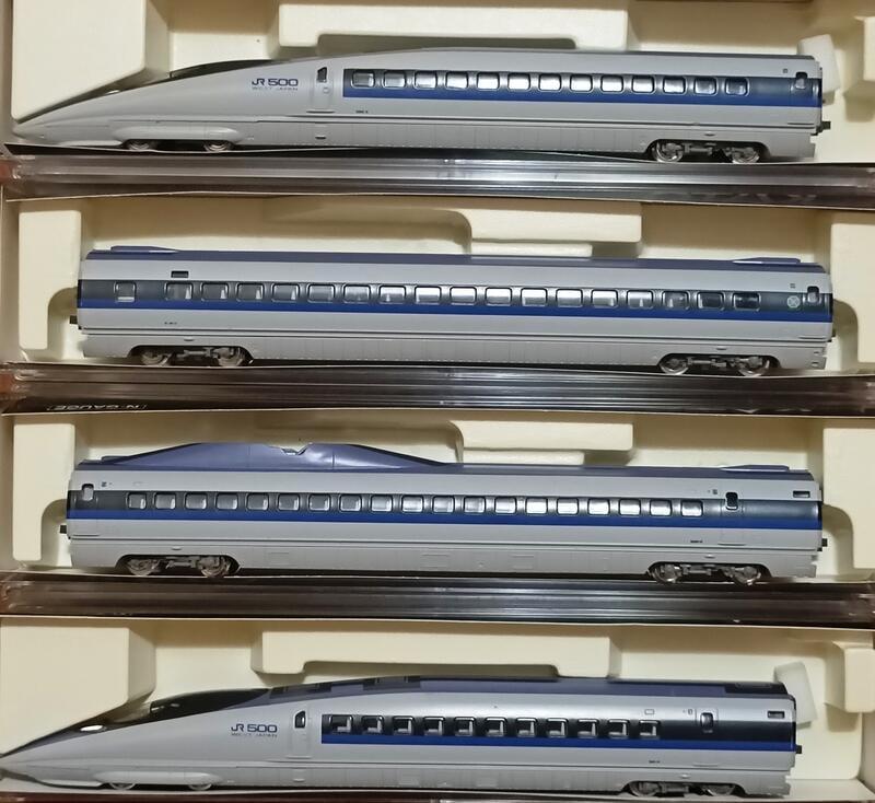 KATO 10-510 500系新幹線「のぞみ」基本4輛