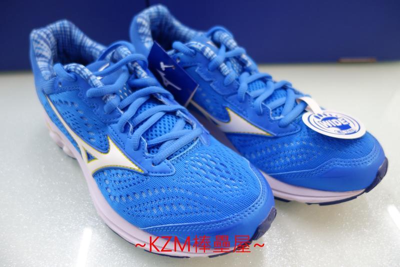 KZM棒壘屋 MIZUNO 美津濃 WAVE RIDER 22 寬楦款  女慢跑鞋 J1GD183216