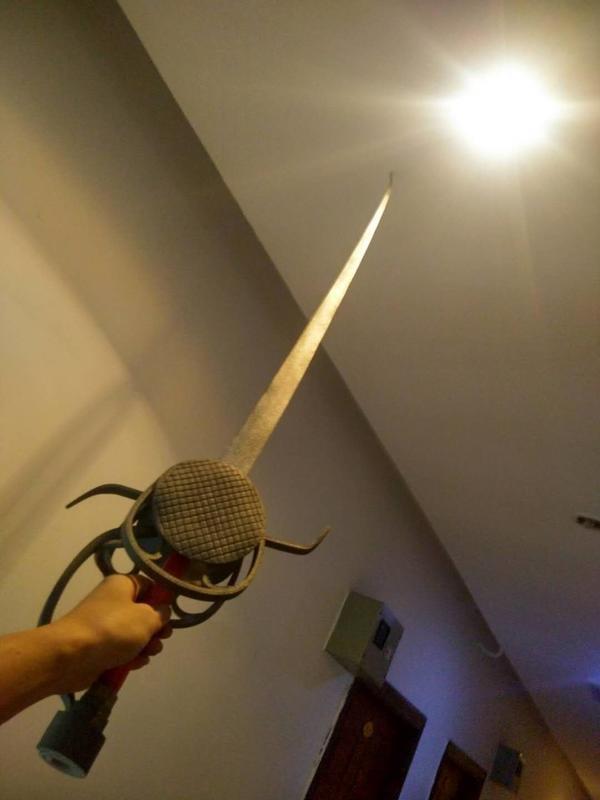 可來圖製做 刺客信條 大革命 亞諾 西洋劍 武器 佩刀 佩劍 直劍 長刀道具 刺客教條 武器 cosplay