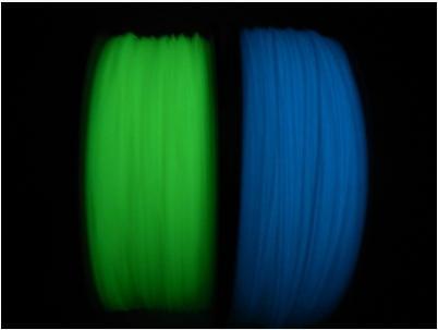 PLA夜光色3D列印機耗材PLA線材夜光黃黃藍綠