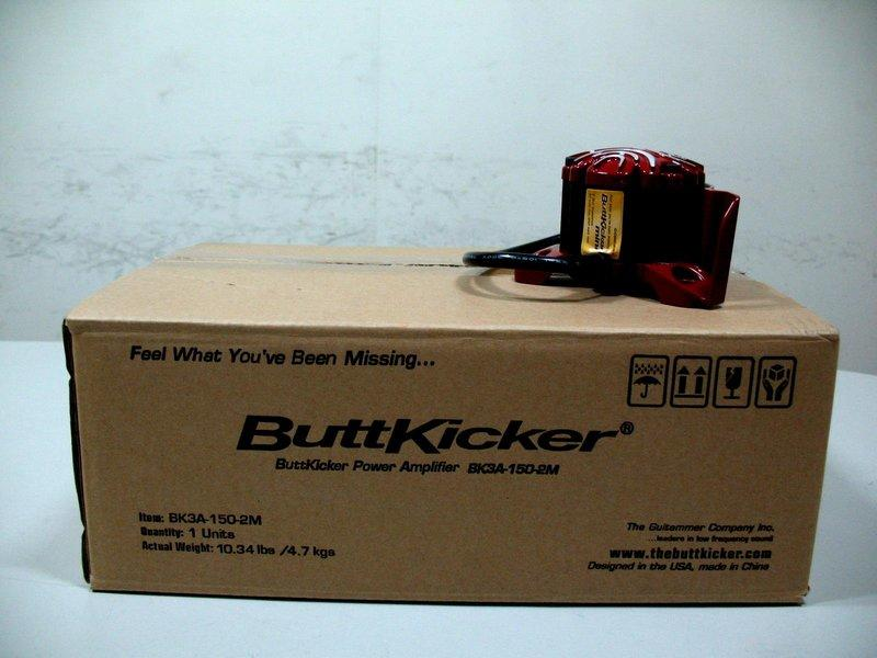 Buttkicker Mini振動器+擴大器 (踢屁屁 BK2) 原價對折出清 買到賺到 (動態椅 DIY)