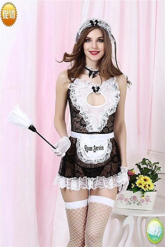 性感 睡衣 情趣套裝 甜蜜愛情女傭女仆裝游戲扮演制服9042