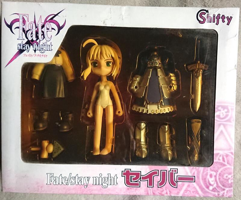 【日本PVC】Fate/stay night Saber Shifty 藍傻 阿爾托莉雅 賽芭 Q版 純日版