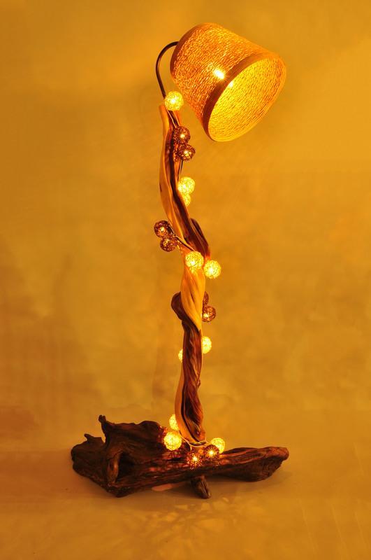 樹燈之家 崖柏燈 立燈 創意燈具 藝術燈 木藝品 木雕 裝飾燈 CE024