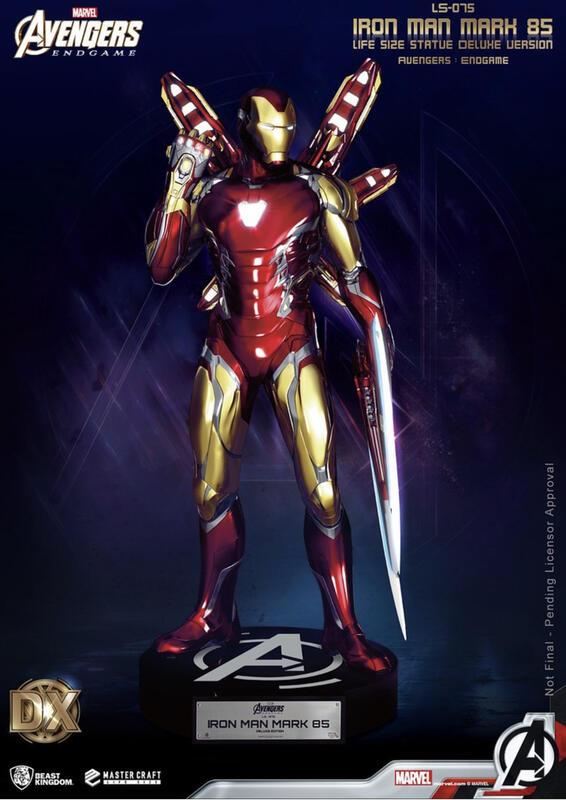 二手 9成9新復仇者聯盟:終局之戰》鋼鐵人馬克 85 (Iron Man Mark 85) 1:1