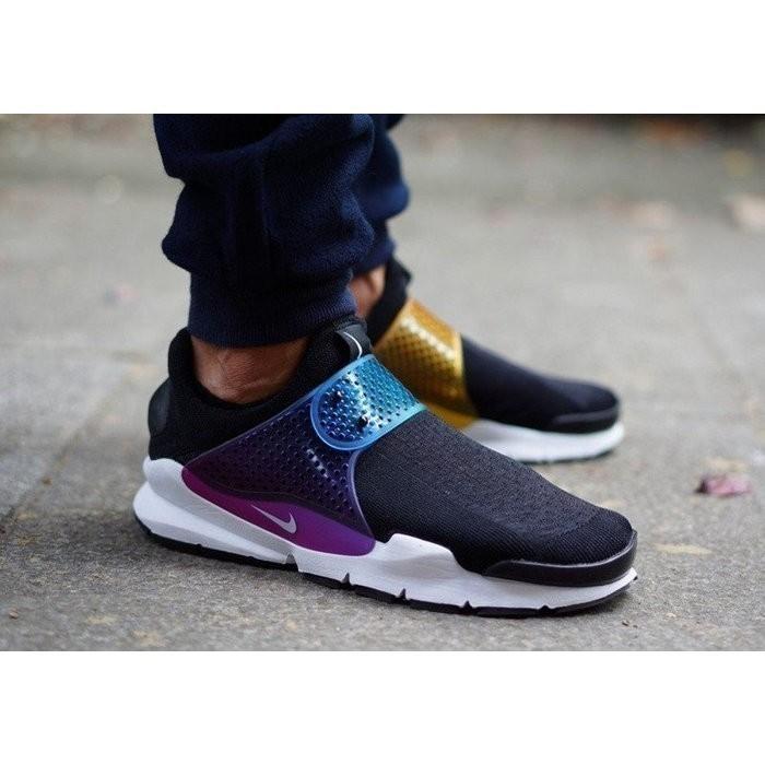 sale retailer 3db64 cf34e Fragment Design x Nike Sock Dart Black Grape 藤原浩鴛鴦漸變葡萄慢跑鞋