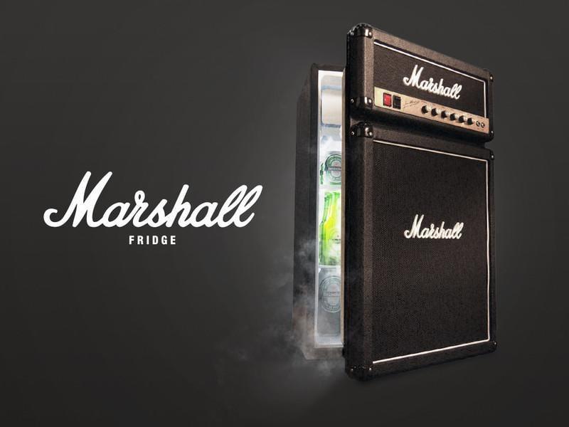 *合音樂器* 全新 Marshall 音箱造型 電冰箱