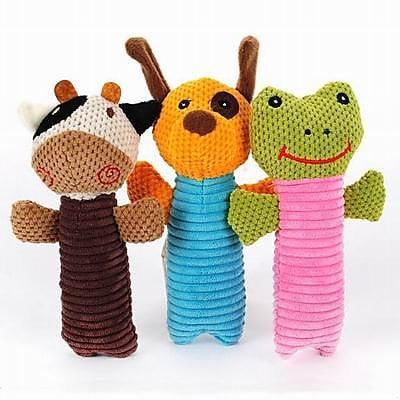 【狗狗條紋發聲玩具3件套-19*12cm-1套/組】磨牙發聲幼犬小型犬寵物用品貓玩具-7909003