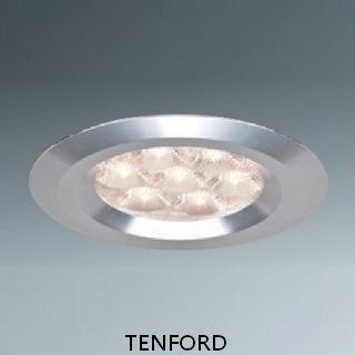 【飛騰照明】FL20704-LED9W/6000K-70x80x45mm-800lm-全電壓正白光高級崁燈