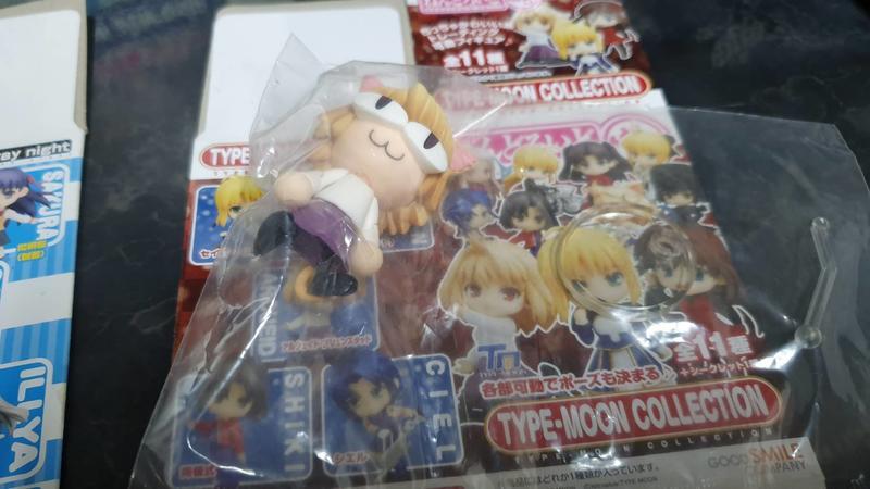 出售 - GSC TYPE-MOON COLLECTION Fate 小黏土人 單售 隱藏版 貓姬Arc 月姬