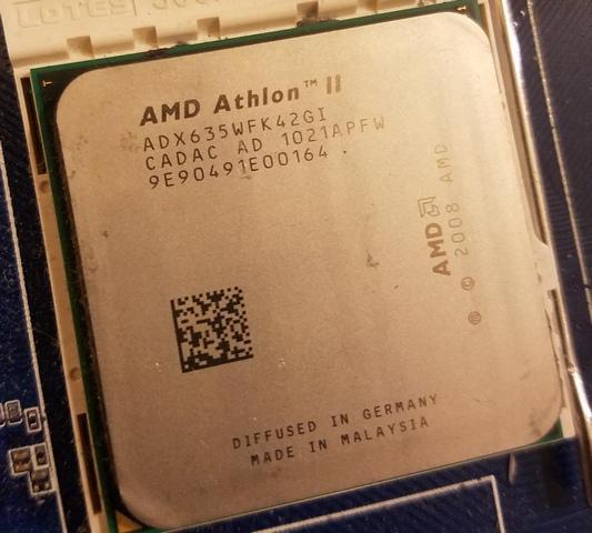 四核心 AMD Athlon II X4 635 2.9G ADX635WFK42GI AM3
