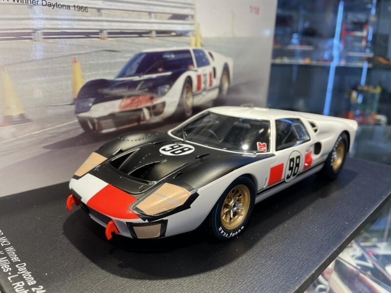 吉華科技@ 1/18 Spark 18DA66 Ford GT40 Mk II #98 Winner Daytona