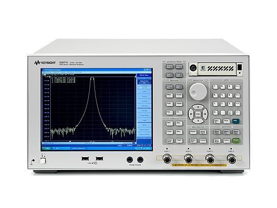 Keysight E5071C-480 ENA網路分析儀