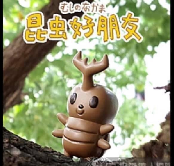 [可可扭蛋] 昆蟲好朋友 扭蛋 獨角仙 鍬形蟲長戟大兜蟲毛象大兜蟲 竹節蟲 一套五款