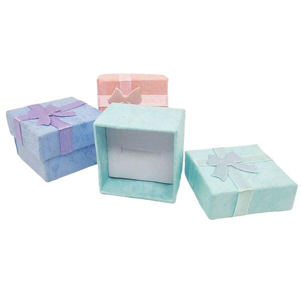 【winshop】A5028 蝴蝶結飾品盒/珠寶盒禮物盒包裝盒/戒指耳環收納展示/婚禮小物/贈品禮品