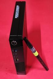 四代i5-4200h等同I5-4570t 8G 240G 聯想M73 強效袖珍型電腦 股票機2輸出客廳影片