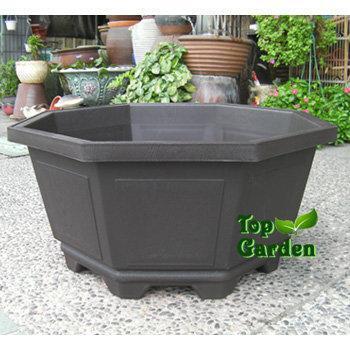 ★Top Garden★八角盆2尺5~塑膠盆八角盆大型花盆大樹盆