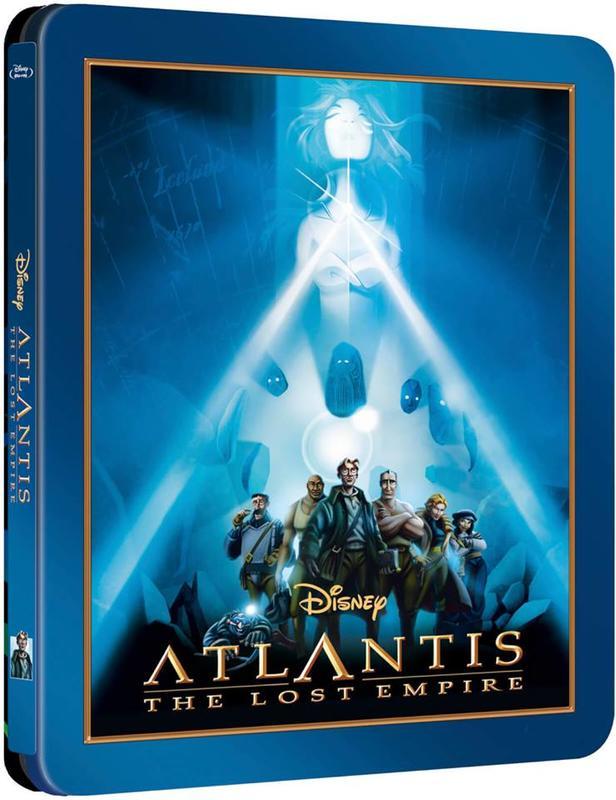 毛毛小舖--藍光BD 亞特蘭提斯:失落的帝國 限量鐵盒版 Atlantis The Lost Empire