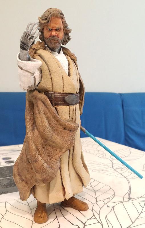 [Roadies]STAR WAR星際大戰 Luke路克 3D列印模型