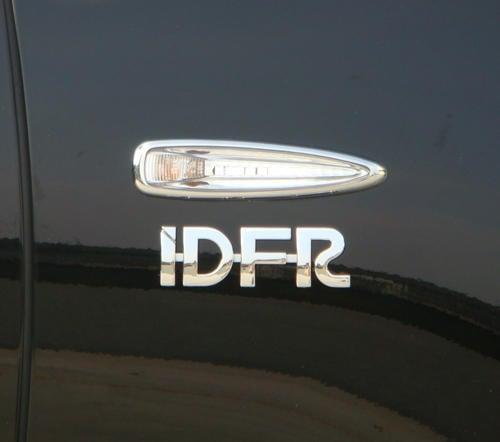 圓夢工廠 Lexus LX570 J200 2008~2012 改裝 鍍鉻銀 車燈框飾貼 側燈框 方向燈框