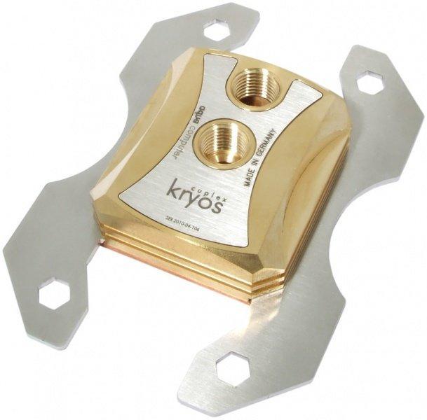 [水冷散熱]德國Aqua Computer cuplex kryos PRO G1/4 CPU水冷頭 支援AMD AM2/AM3/AM3+腳位